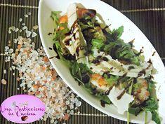 insalata di gamberi con rucola e grana ricetta
