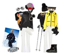 """Ski inspo"" by linnealundmark on Polyvore featuring Peak Performance, Givenchy, Moncler, Moncler Grenoble, Surell, CÉLINE, Fendi, Christian Dior, Columbia and Christian Lacroix"