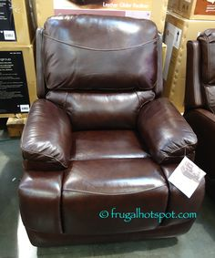 Costco has the Simon Li Furniture Leather Glider Recliner in stores for a limited time. & Synergy Home Wood Arm Recliner. #Costco #FrugalHotspot | Furniture ... islam-shia.org