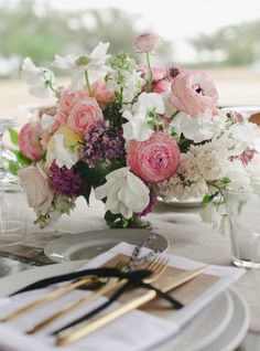 Featured Photographer: The Nichols; Wedding reception centerpiece idea.