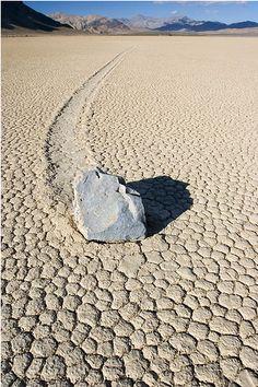 As pedras que andam
