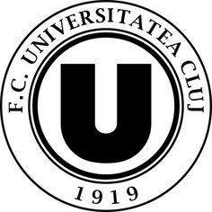 Fotbal Club Universitatea Cluj | Country: România / Romania. País: Rumanía. | Founded/Fundado: 1919/09 | Badge/Crest/Logo/Escudo.