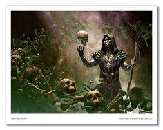Deathrite Shaman - MTG Print (Steve Argyle)