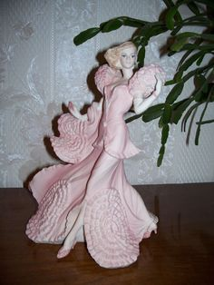 "Coalport Figurine Figure Statue Sculpture ""Katie"", Romantic Voyage Collection"