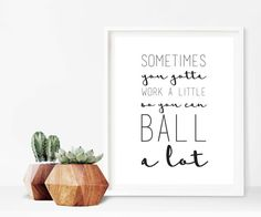 Parks and Rec Tom Haverford Quote Digital Print by deenakayeimages
