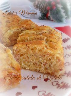 Torta salata di Natale ricetta salato antipasto lievitato pane salumi formaggi ricetta semplice veloce Kenwood foto tutorial Giallozafferano BloggerGz Statusmamma Antipasto aperitivo stuzzichino secondo pic nic