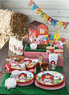 Una fiesta para los más peques de la casa, Farmhouse Fun, de Creative Converting.