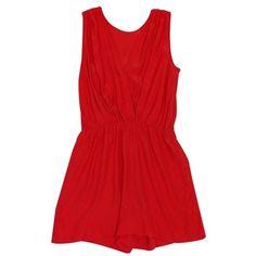 Pre-owned Amanda Uprichard Orange Romper ($89) ❤ liked on Polyvore featuring jumpsuits, rompers, orange, silk romper, orange romper, polka dot rompers, red rompers and polka dot romper