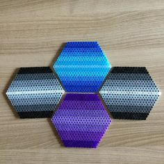 Coaster set hama beads by TCAshop