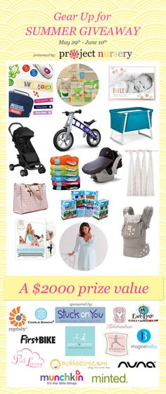 Project Nursery Summer Giveaway