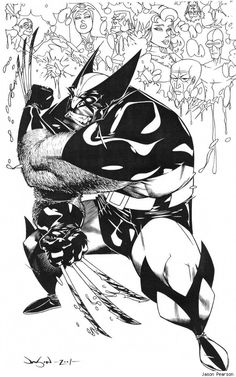 Wolverine by Jason Pearson