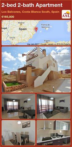 2-bed 2-bath Apartment in Los Balcones, Costa Blanca South, Spain ►€165,000 #PropertyForSaleInSpain