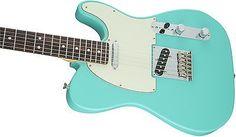 New Fender Limited American Standard Telecaster Electric Guitar Green Seafoam