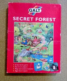 SECRET FOREST VINTAGE BOARD / CARD GAME by GALT Family Fun Games, Traditional Games, Strategy Games, Vintage Games, Learning Games, Card Games, The Secret, Board, Ebay