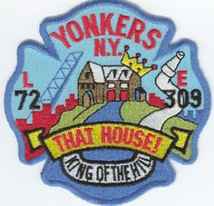Yonkers, NY FD Engine 309/Ladder 72 Company Patch.