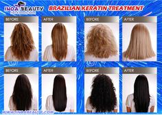 Brazilian hair straightening treatment (BKT) is a technique of temporarily straightening hair by sealing a liquid keratin and a preservative solution into the hair with a hair iron. For more Detail please visit our website: WWW.inoabeauty.com