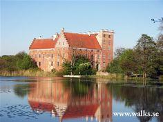 Svaneholms Castle in Skåne. By: Karin Hoffmann. Tags: #circular walks #gps #romeleåsen #skåne