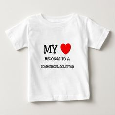 My Heart Belongs To A COMMERCIAL SOLICITOR T Shirt, Hoodie Sweatshirt