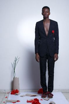 Nigeria's T.I Nathan Presents His Collection for 2016, Soliloquy   Lagos Fashion & Design Week - #Menswear #Trends #Tendencias #Moda Hombre