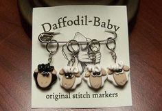 Looking for knitting project inspiration? Check out Sheep Stitch Markers by member AuntJanet. - via @Craftsy