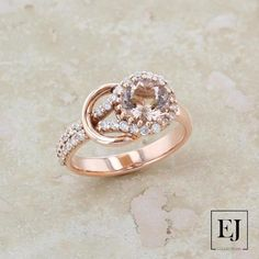 Ring Size-5.5 Black Natural Diamond Accent Clover Leaf Ring in14k Rose Gold Over Sterling Silver 0.04 Cttw