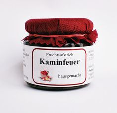 Kaminfeuer - Cassis Apfel Sauerkirsche - Irenas Spezialitäten Augsburg