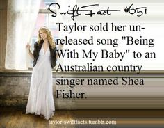 I don't know this song but i'm definetly going to look it up! All About Taylor Swift, Taylor Swift Facts, Taylor Alison Swift, Bae, Swift Photo, Being Good, She Song, Country Singers, Celebs