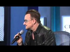 #Bono, #Impersonates,#President, #Bill, #Clinton, at #ClintonGlobalInitiative