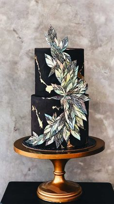 79 wedding cakes that are really pretty! 79 wedding cakes that are really pretty! Pretty Wedding Cakes, Black Wedding Cakes, Fall Wedding Cakes, Unique Wedding Cakes, Unique Cakes, Beautiful Wedding Cakes, Gorgeous Cakes, Wedding Cake Designs, Pretty Cakes