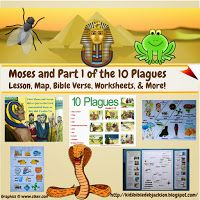 Bible Fun For Kids: Moses: The Last Plague & Crossing the Red Sea