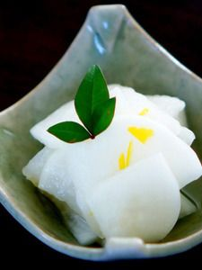寿司酢で簡単柚子大根