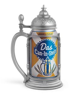 Turn Any Can Into A Stein With Can-In-Stein