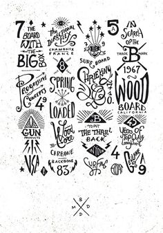 BMD Design // Hand Lettering // Logos // Design // Typography
