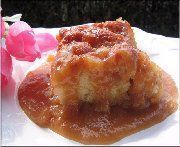 Poor man's pudding (also known as upside-down cake) Maple Syrup Recipes, Cake Recipes, Dessert Recipes, Desserts With Biscuits, Popular Recipes, Just Desserts, Bakery, Sweet Treats, Good Food