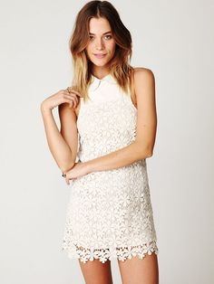Free People Embroidered Dress, $468.00...OH yeah I can afford this....but I do love it