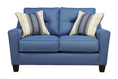 Benchcraft Forsan Loveseat in Blue  6690335 ** Want to know more, click on the image.