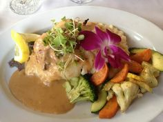 Crab Stuffed Grouper Fresh Catch Bistro | Fort Myers Beach