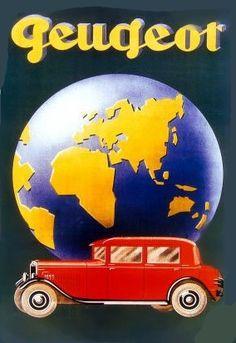 Glasgow por tranvía y autobús Grande Metal Lata Señal Poster Vintage De Estilo Placa para pared