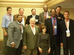 Several outstanding former professional athletes came out to shine at the Opening Reception for the Shingo Prize 2012.
