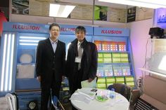March 2012 ,LED lighting fair next stage in Tokyo Japan.