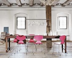 Possible inspiration for the dining room?