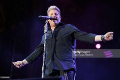 Recording artist Gary LeVox of music group Rascal Flatts performs onstage during the 50th Academy of Country Music Awards All Star Jam at AT&T Stadium on April 19, 2015 in Arlington, Texas.