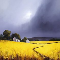 Click  For Framed Example: Barry Hilton - Textures Of Gold