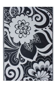 $5 Off when you share! Fab Habitat Earth Maui Cranberry Red Rug | Country & Floral Rugs #RugsUSA