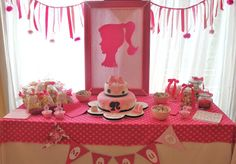 ideas tematicas: Cumple temático de Barbie/Barbie themed party