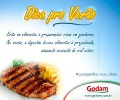 Dica pro Verão Godam! Acesse nosso site: www.godam.com.br