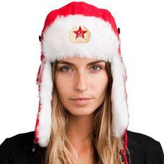 Bomber Hat + FREE Soviet Pin ($8 value!)