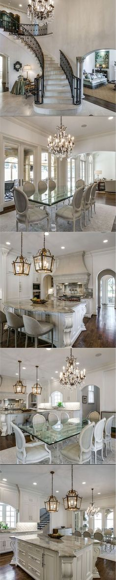 In love with this home for sale in Dallas, Texas. Photos from @zillow ✨✨✨✨ . . . . . . #dallas #texas #homeforsale #luxuryrealestate #luxuryhome #mansion #dreamhouse #dream_interiors #dreamhome #homeinspo #kitchendesign #kitchen #kitcheninspo #chandelier