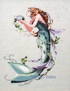 Mermaid ~ Mirabilia Cross Stitch