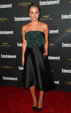 Kaley Cuoco-Sweeting - Entertainment Weekly's Pre-Emmy Party 2014